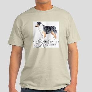 Australian Shepherd Rescue Light T-Shirt