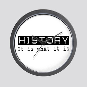 History Is Wall Clock