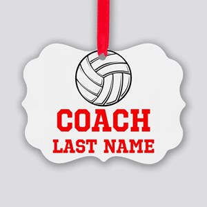 Volleyball Coach Ornament