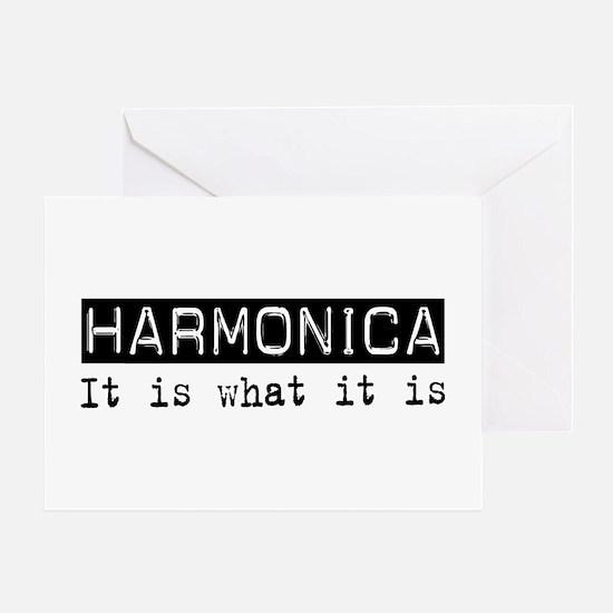 Harmonica Is Greeting Card