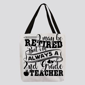 2nd Grade Teacher Polyester Tote Bag