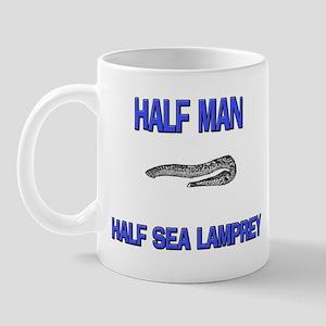 Half Man Half Sea Lamprey Mug