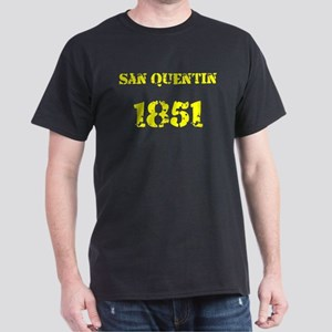 San Quentin Yellow Dark T-Shirt