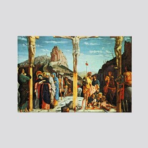 Mantegna's Crucifixion Rectangle Magnet