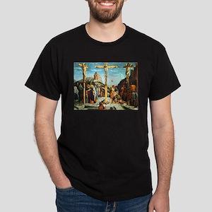 Mantegna's Crucifixion Dark T-Shirt