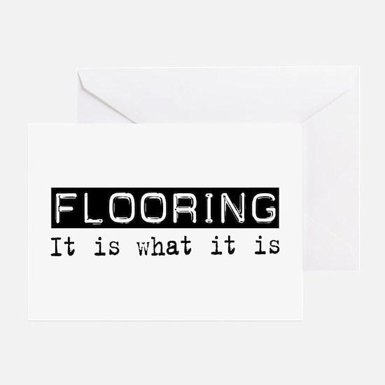 Flooring Is Greeting Card
