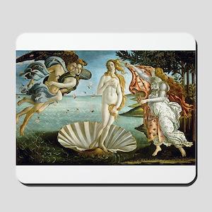 Botticelli's Birth of Venus Mousepad