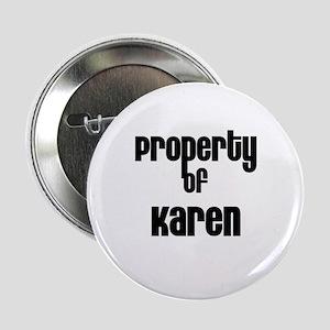 Property of Karen Button