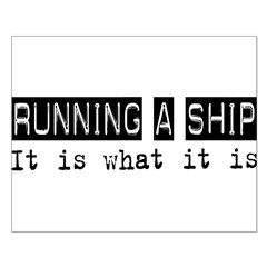 Running a Ship Is Posters
