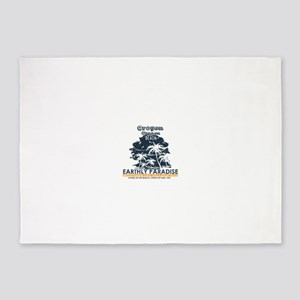 Oregon - Cannon Beach 5'x7'Area Rug