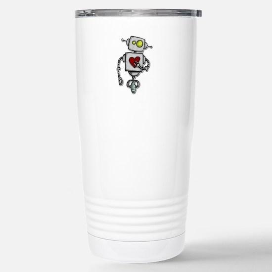 love bot Stainless Steel Travel Mug