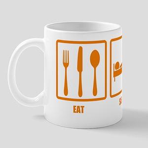 Eat Sleep Canoe Mug