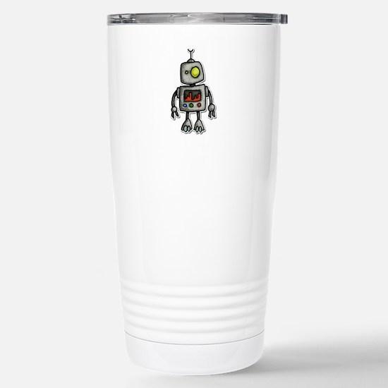 little bot Stainless Steel Travel Mug