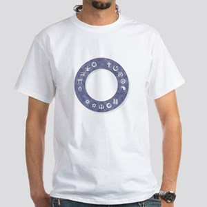 InterFaith/MultiFaith Ring White T-Shirt