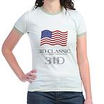 3ID Classic - Women's Ringer T-shirt