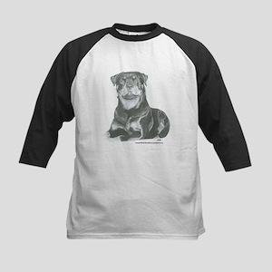Rottweiler Kids Baseball Jersey