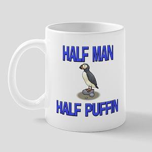Half Man Half Puffin Mug
