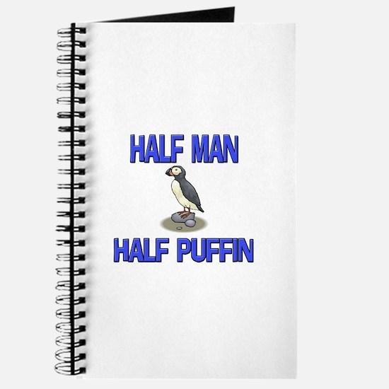 Half Man Half Puffin Journal