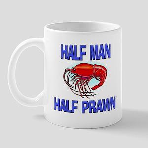 Half Man Half Prawn Mug