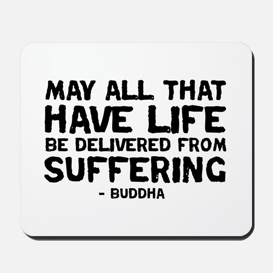 Quote - Buddha - Delivered fr Mousepad