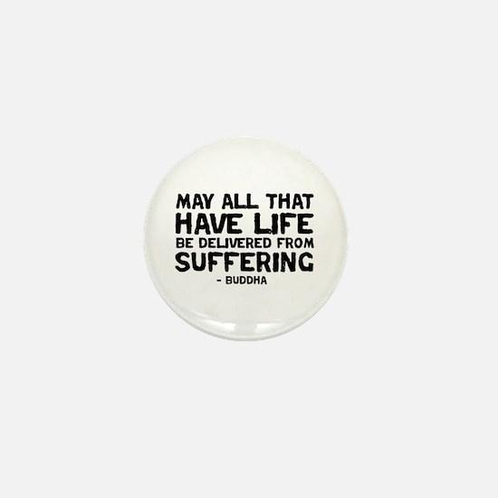 Quote - Buddha - Delivered fr Mini Button