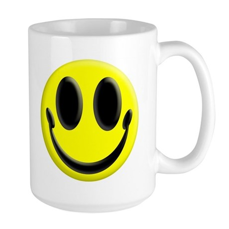 Smiley Face Large Coffee Cup