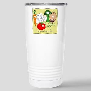 Vegan Friendly Stainless Steel Travel Mug