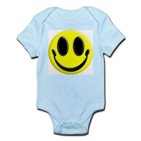 Smiley Face Infant Creeper