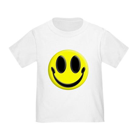 Smiley Face Toddler T-Shirt