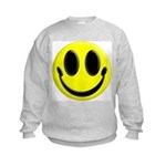 Smiley Face Kids Sweatshirt
