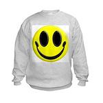 Smiley Face Kids Sweatshirt