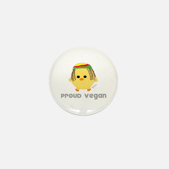 Proud Vegan Mini Button