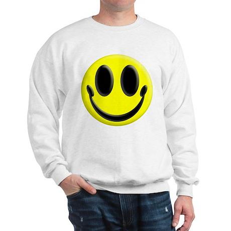 Smiley Face Adults Sweatshirt
