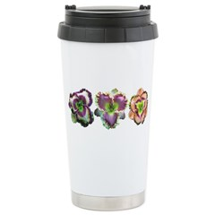 Lavender Daylilies Stainless Steel Travel Mug