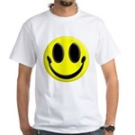 Smiley Face White T-Shirt