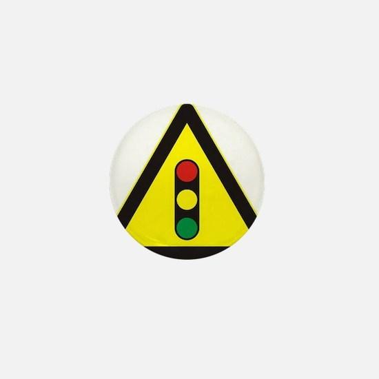 Signal Ahead Mini Button