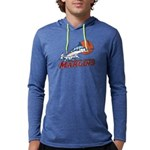 Marlins Men's Hooded Shirt Long Sleeve T-Shirt