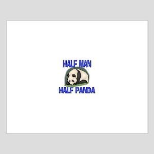 Half Man Half Panda Small Poster