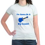 I'm Gonna Be A Big Cousin! Jr. Ringer T-Shirt