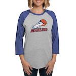 Marlins Women's Baseball Tee Long Sleeve T-Shi