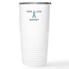 'Hope Love Support' Stainless Steel Travel Mug