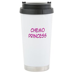 'Chemo Princess' Stainless Steel Travel Mug