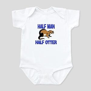 Half Man Half Otter Infant Bodysuit