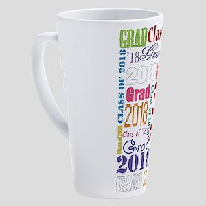 Class Of 2018 Graduation 17 Oz Latte Mug