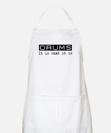 Drums Is BBQ Apron