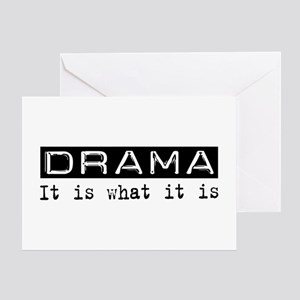 Drama Is Greeting Card
