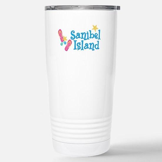 Sanibel Island - Stainless Steel Travel Mug