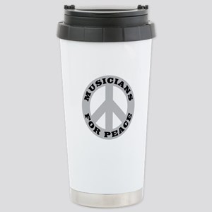 Musicians For Peace Stainless Steel Travel Mug