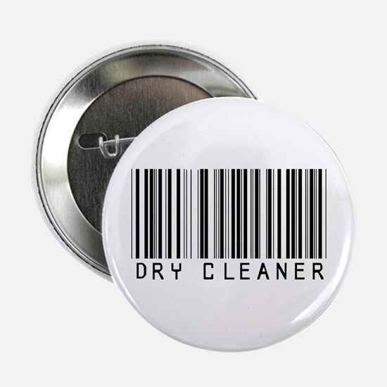 "Dry Cleaner Barcode 2.25"" Button"