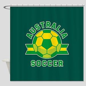 Australia Soccer Shower Curtain